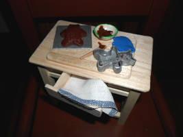 Teddy Bear Cake Preparation by kayanah