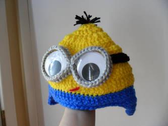 Minion Hat by kayanah