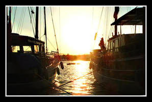 By the Marina by Redandwhite