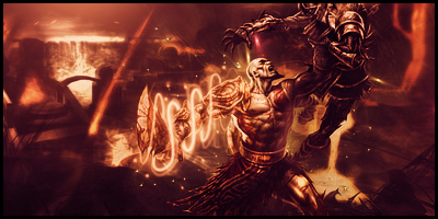Kratos the god of war by robgee789