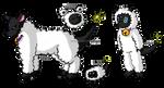 Ewemon  the Sheep Digimon by Inakamon