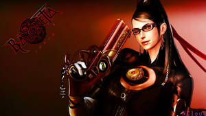 Bayonetta PS3Red by NaughtyBoy83