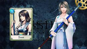 Dissidia 012 Yuna by NaughtyBoy83