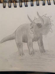 Triceratops  by harmzee