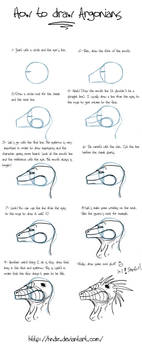 How to draw argonians -part 1- by Hndz