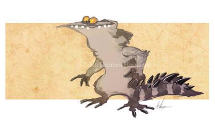 Cartoon monster 2 by Hndz