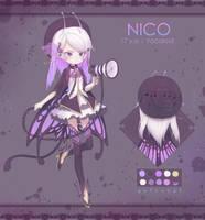 [CM] Chibi Adopt NICO by AstroCat-sama