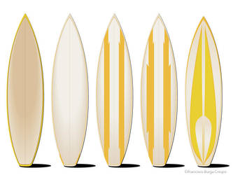 Surfboards by hotpixel69