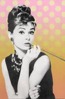 Audrey Hepburn by gameboycolor
