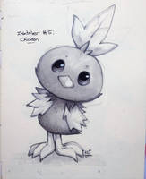 Inktober #5: Chicken by NazoKG