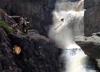 Leap of Faith by dragengothika