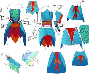Fairies, rainbows and mermaids by dragengothika