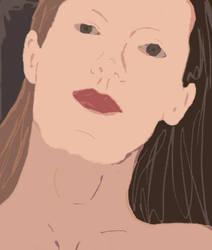 My Portrait by dragengothika