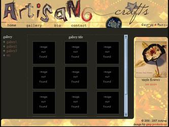 Artisan website by dragengothika