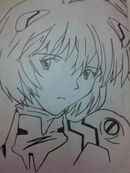 Rei Ayanami by zentrandi