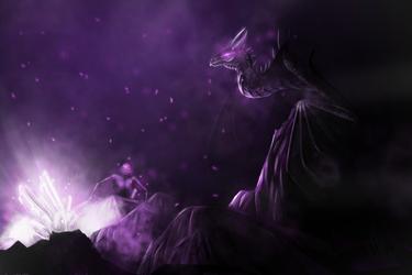 Ender Dragon by CervidaeMonster