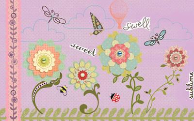 flower garden by beccabex81