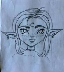 Sketchy druid by xLeFeu