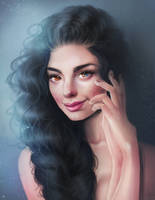 Portrait Commission by SandraWinther