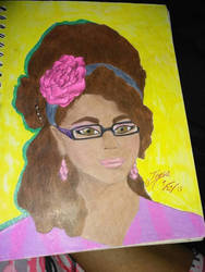 my old self portrait  by TTLHBB
