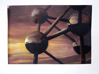 Atomium by zwarback