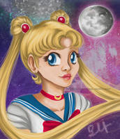 Sailor Moon Forever by EllenMarieCurie