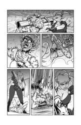 Lucy vs Werewolf Woman by drewedwards