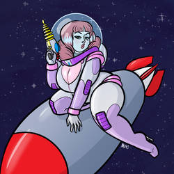 Final Curves in Space Lucy by drewedwards