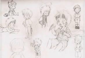 Max sketches by dcrisisbeta