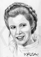 Leia Organa by krizok