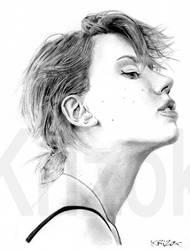 Scarlett Johansson by krizok