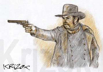 Gunslinger by krizok
