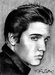 Elvis Presley by krizok