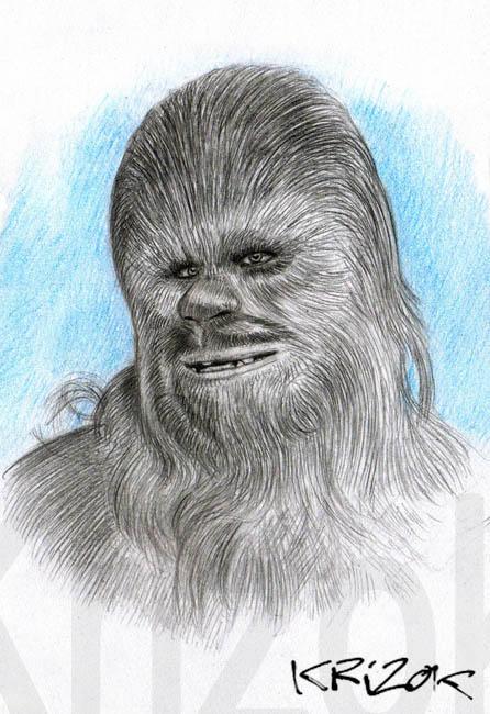 Chewbacca by krizok