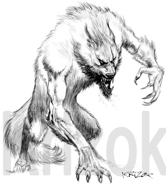 The Beast Within by krizok