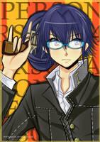 Persona 4 : Naoto by enjelia
