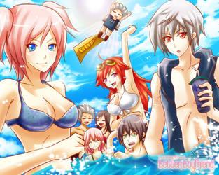 Beach Party by enjelia