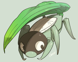 Kage no Mushi - Alfa Pokemon by MBLOCK