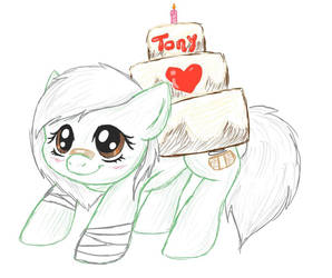 Happy Birthday Tony by li-Fae