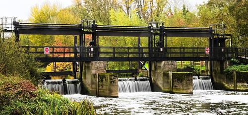 Nafford Weir by SomersetCider