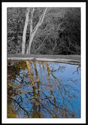 Blue Pond by MrStickman