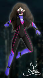 Namy Gaga Spidersona [Fan Art] by TigerMCheh