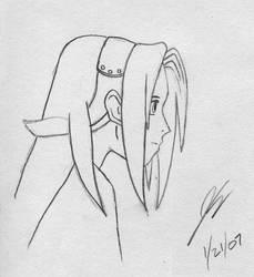 Quick Sakura Sketch 2 by OrionsToolBelt