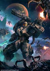 Starship Troopers by AlienTan