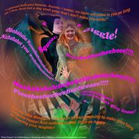 Playful Protector(photomanip)Maleficent and Aurora by TicklishAndInLove