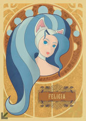 Felicia Art Nouveau by Kathhe200