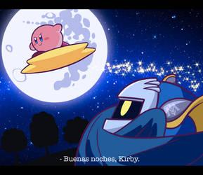 Good night, Kirby. by LunaAzul788