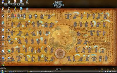 June-July 2010 Desktop by TakaraLioness