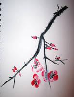 Cherry Blossom by Semeni
