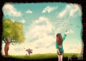 My false world by NawaeDana